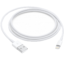 Кабель Apple USB - Lightning MQUE2ZM/A (1 метр)